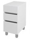 AVICE 3x szuflada 30x70,5x48cm, biały