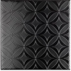 BLACK&WHITE Decor Negro 20X20 (1bal=1m2)