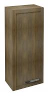LARITA - dodatkowa szafka, 40x90x25cm, lewa, dąb graphite