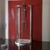 LUCIS LINE półokrągła kabina prysznicowa 1000x1000 mm, czyste szkło
