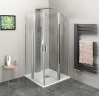 ZOOM LINE kabina prysznicowa narożna 1000x1000mm, szkło czyste