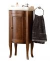 RETRO szafka umywalkowa 36,5x85x29cm, buk