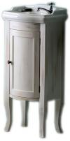 RETRO szafka umywalkowa 36,5x85x29cm, starobiała