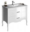 SALMA umywalkowa szafka 75x85x45cm, biała