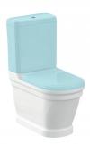 ANTIK misa WC kombi, tylny odpływ, 37x63 cm