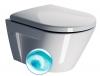 NORM WC wiszące SWIRLFLUSH, 50x36 cm, ExtraGlaze