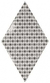 RHOMBUS WALL Pattern B&W 15,2x26,3 (EQ-20S) (1bal=1m2)