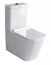 PORTO WC kompakt WC ze spłuczką z deską Soft Close, uniwersalny