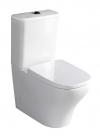 BELLO WC kompakt WC ze spłuczką z deską Soft Close, uniwersalny