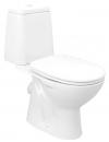 RIGA WC kompakt, tylny odpływ, mechanizm spłukujący