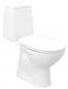 RIGA WC kompakt, dolny odpływ, mechanizm spłukujący
