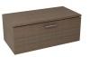 MAKALA schowek z pokrywą 89,5x35x45,2 cm, sosna rustikalna