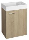 ZOJA szafka umywalkowa 39,5x50x22cm, dąb platin