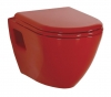 PAULA WC wiszące 35,5x50cm, czerwony (TP325.70100)