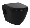 PAULA WC wiszące 35,5x50cm, czarny (TP325.40100)