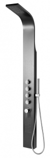MESA panel prysznicowy 150x1680mm, czarny