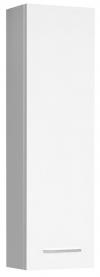 ZOJA szafka wisząca do lustra, 20x70x14cm, lewa, biała