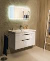 Zestaw ELLA 80, szafka umywalkowa, kolor biały