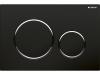 GEBERIT SIGMA20 Podwójny przycisk toaletowy, czarny/ chrome