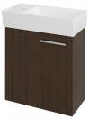 LATUS IX szafka umywalkowa 44x50x22cm, sosna rustikalna