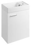 ZOJA szafka umywalkowa 39,5x50x22cm, biała