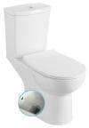 KAIRO WC kompakt z prysznicem bidetowym, tylny odpływ, mechanizm spłukujący
