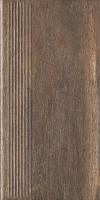 HAZARD BROWN STOPNICA PROSTA 30X60 GAT.2 ( PAL.46,08 M2)K.J.PARADYŻ