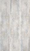 Industrial Chic Grys Ściana Gładka Matowa Rekt. Carpet Dekor 29,8/89,8 cm Gat.1