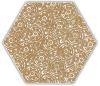 Shiny Lines Gold Heksagon Inserto F 19,8X17,1 Gat.1