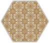 Shiny Lines Gold Heksagon Inserto E 19,8X17,1 Class 1