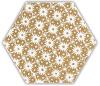 Shiny Lines Gold Heksagon Inserto D 19,8X17,1 Class 1
