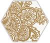 Shiny Lines Gold Heksagon Inserto B 19,8X17,1 Class 1