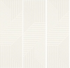 Woodskin Bianco Ściana A Struktura Mat Rekt.29,8/89,8 cm Gat.1