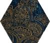 Urban Colours Blue Inserto Szklane Heksagon B 17,1/19,8 cm Gat.1