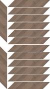 WILDLAND DARK DEKOR CHEVRON LEWY 14,8X88,8 GAT.1