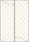 PŁYTKA ŚCIENNA LIVIA BIANCO STRUKTURA REKTYFIKOWAN 25/75 cm błyszcząca ( op.1,30 m2 )K.J.PARADYŻ