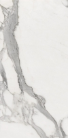 GRES PORCELANOWY CALACATTA WHITE REKTYFIKOWANY SATYNOWY-MATOWY 59,7/119,7 cm GAT.1 ( 1,43 M2 )K.J.CERRAD