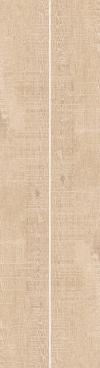 GRES BREWNOPODOBNY NICKWOOD BEIGE REKTYFIKOWANY 19,3/1,202 cm SZKLIWIONY-SATYNOWY-MATOWY ( OP.1,39 M2 )K.J.CERRAD