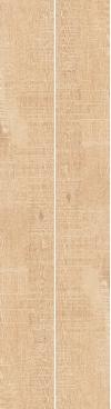 GRES BREWNOPODOBNY NICKWOOD SABBIA REKTYFIKOWANY 19,3/2,397 cm SZKLIWIONY-SATYNOWY-MATOWY ( OP.0,46 M2 )K.J.CERRAD
