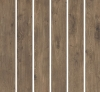 GRES WALNUT WL07 STRUKTURA REKTYFIKOWANY 19,3 x 119,7 DREWNOPODOBNY SZKLIWIONY-SATYNOWY-MATOWY GAT.1 ( OP.0,96 M2 )K.J.NOWA GALA