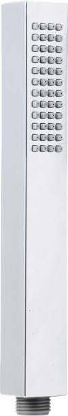 Rączka prysznicowa, kwadratowa, 220mm, ABS/chrom