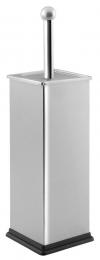 SIMPLE LINE Szczotka WC prostokątna, szczotkowana stal nierdzewna