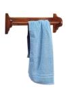 RETRO wieszak na ręczniki, 50x17cm, buk