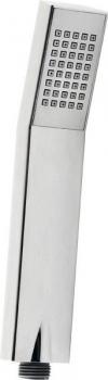 Rączka prysznicowa, 210mm, kwadratowa, ABS/chrom