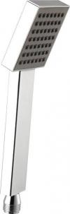 Rączka prysznicowa 245mm, kwadrat, ABS/chrom