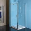 Easy Line prostokątna/kwadrat kabina prysznicowa obrotowe drzwi 800-900x900mm wa
