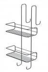 CHROM LINE druciana półka prysznicowa 240x490x220 mm, chrom