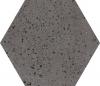 GRES INDUSTRIALDUST GRAFIT SZKLIWIONY- SATYNOWY - MATOWY OKTAGONALNY 19,8/17,1 cm GAT.1 ( OP.0,82 M2 )