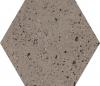 GRES INDUSTRIALDUST TAUPE SZKLIWIONY- SATYNOWY - MATOWY OKTAGONALNY 19,8/17,1 cm GAT.1 ( OP.0,82 M2 )