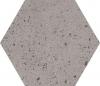 GRES INDUSTRIALDUST LIGHT GRYS SZKLIWIONY- SATYNOWY - MATOWY OKTAGONALNY 19,8/17,1 cm GAT.1 ( OP.0,82 M2 )